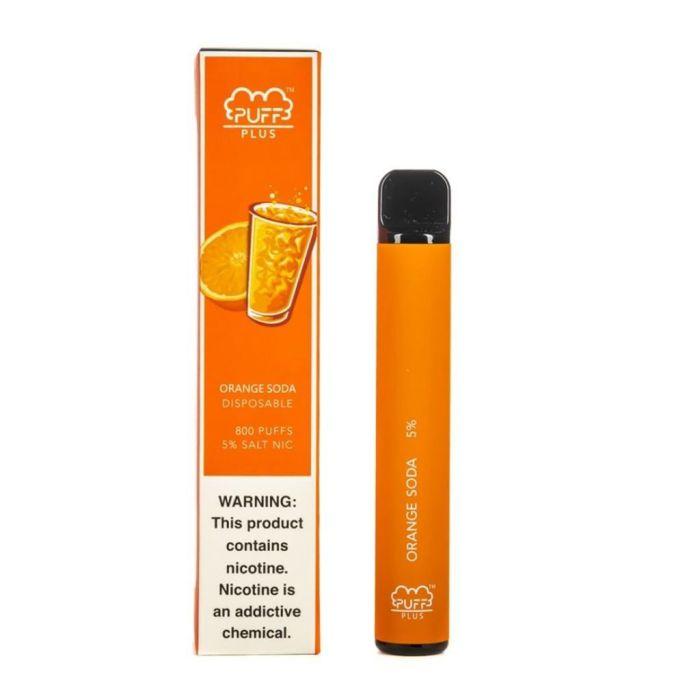 Puff Bar Plus Orange Soda