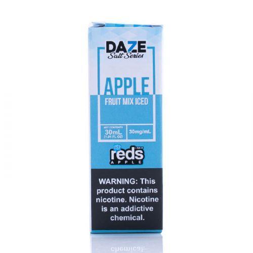 ICED Fruit Mix - Red's Apple E-Juice - 7 DAZE SALT - 30mL