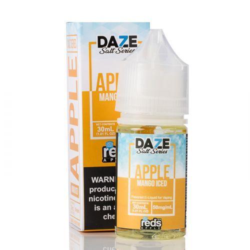 ICED MANGO - Red's Apple E-Juice - 7 Daze SALT - 30mL