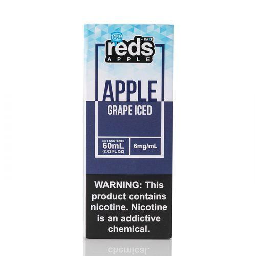 ICED GRAPE - Reds Apple E-Juice - 7 Daze - 60mL