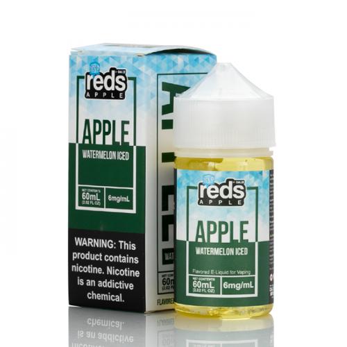 ICED WATERMELON - Reds Apple E-Juice - 7 Daze - 60mL