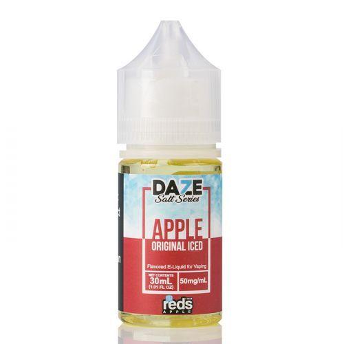 ICED APPLE - Red's Apple E-Juice - 7 Daze SALT - 30mL
