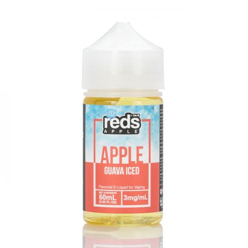 ICED GUAVA - Red's Apple E-Juice - 7 Daze - 60mL