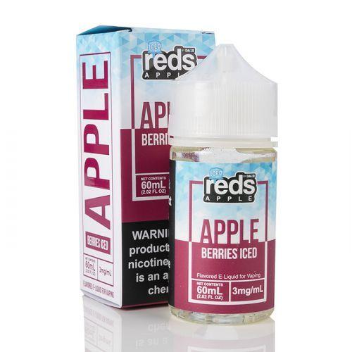 ICED BERRIES - Reds Apple E-Juice - 7 Daze - 60mL