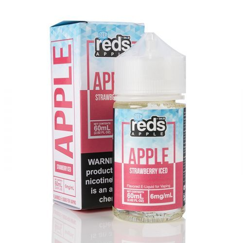 ICED STRAWBERRY - Red's Apple E-Juice - 7 DAZE - 60mL