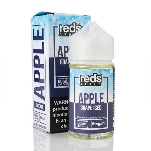 ICED GRAPE - Red's Apple E-Juice - 7 Daze SALT - 30mL
