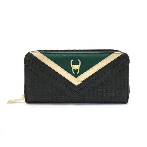 Loki Round Zip Wallet
