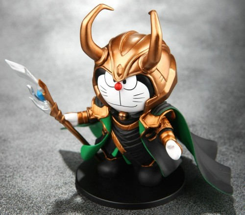 Loki Doraemon Role-Playing Series Toy Models can be Collected