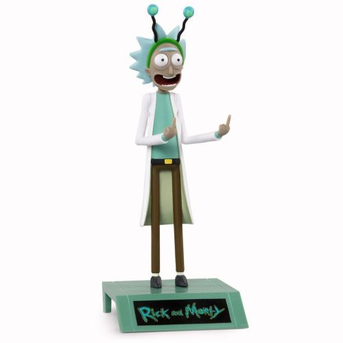Rick and Morty's middle finger figure