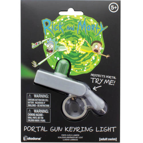 Rick and Morty Portal Toy Keychain