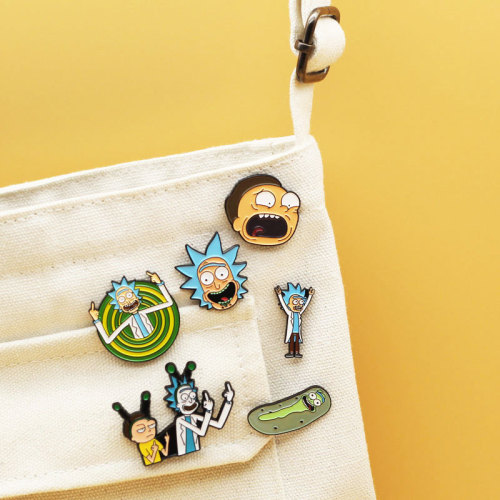 Rick and Morty Brooch