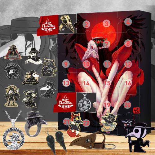 Plague Doctor Advent Calendar 2021🎁-- The One With 24 Little Doors