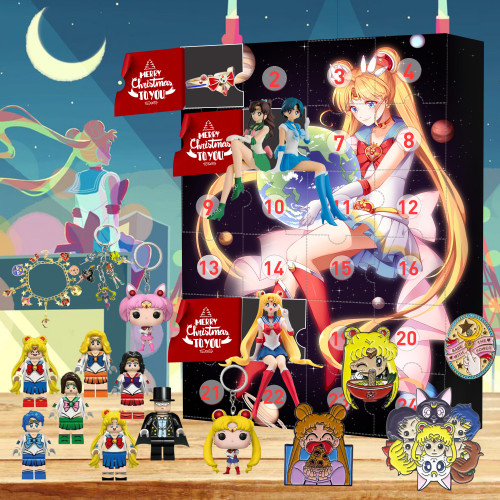 Sailor Moon Advent Calendar 2021🎁-- The One With 24 Little Doors