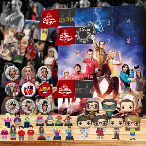 The Big Bang Theory Advent Calendar 2021🎁-- The One With 24 Little Doors