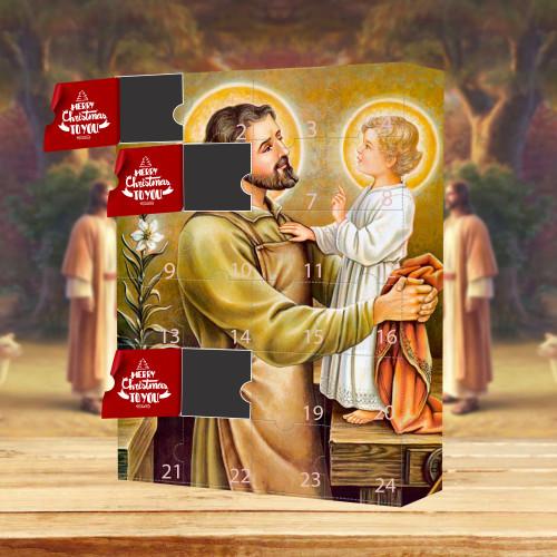 Jesus Advent Calendar 2021🎁-- The One With 24 Little Doors