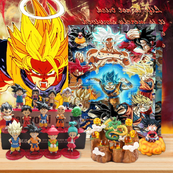 Dragon Ball Adventskalender – Der mit 24 kleinen Türen