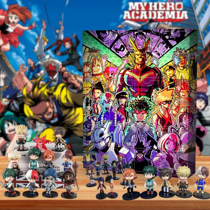 My Hero Academia Advent Calendar-Calendar with 24 Gifts