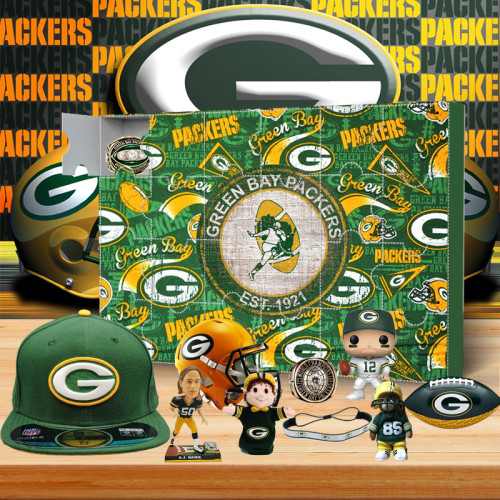 Green Bay Packers Christmas Advent Calendar - 4-time Super Bowl champion