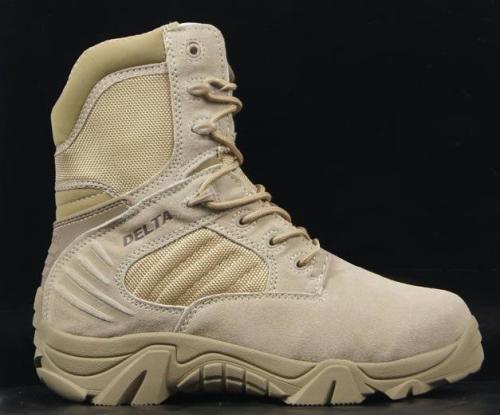 High-Top Wear-Resistant Climbing Desert Tactical Boots
