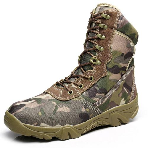 Camouflage Field High-Top Desert Tactical Boots