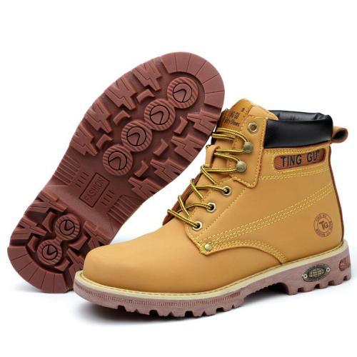 Anti-smash and anti-stab hiking boots