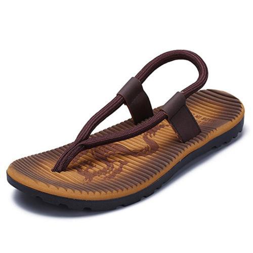 Men's Outdoor Creative Beach Shoes Sports Flip Flops Casual Sandals