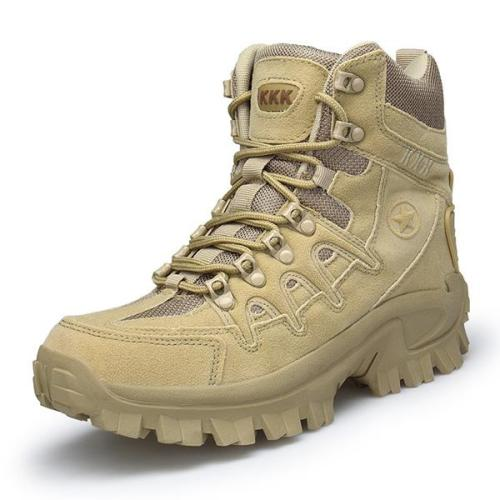 Mens outdoor high-top training tactical boots hiking boots