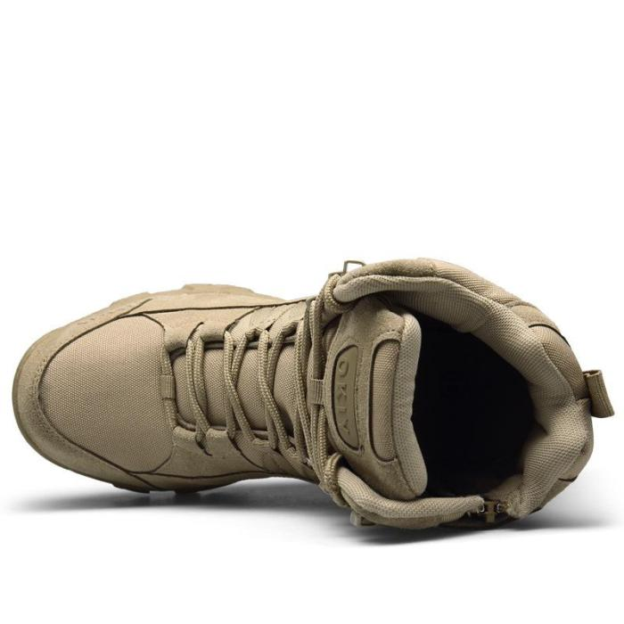 Outdoor High-Top Training Tactical Boots