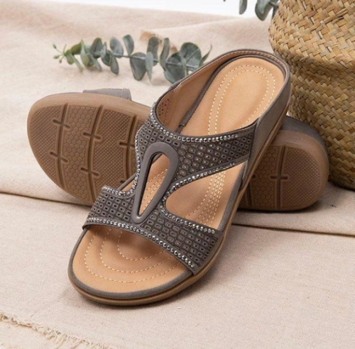 Orthopedic Arch Support Reduces Pain Comfy Woman Sandals