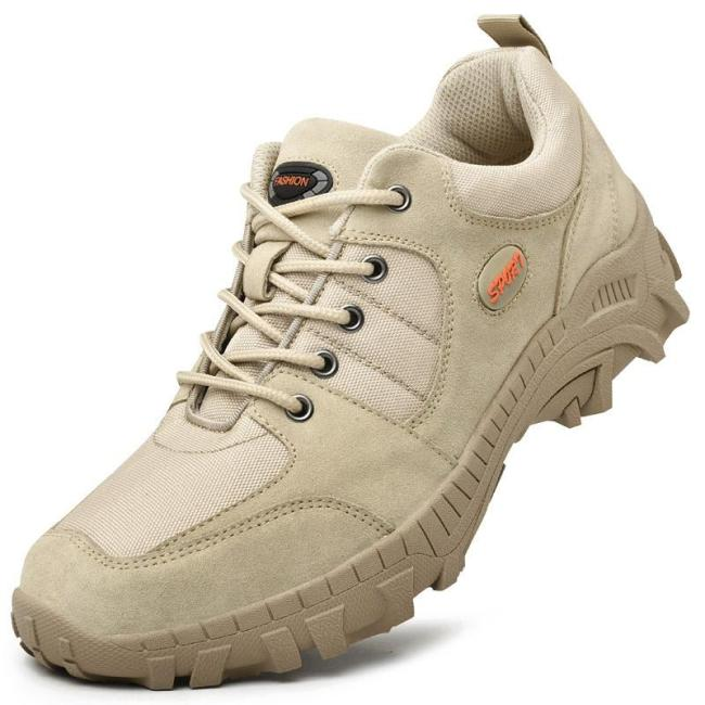 Mens outdoor sports breathable tactical shoes hiking shoes