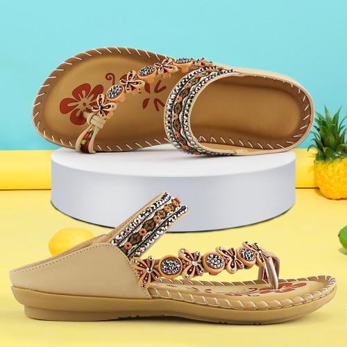 2021 Bohemian Womens Flats Sandals
