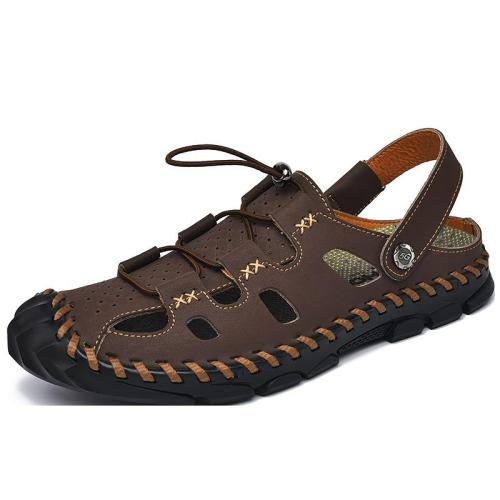 Men's Breathable Sandals Dual-use Soft-soled Beach Shoes Comfortable And Versatile Wading Shoes