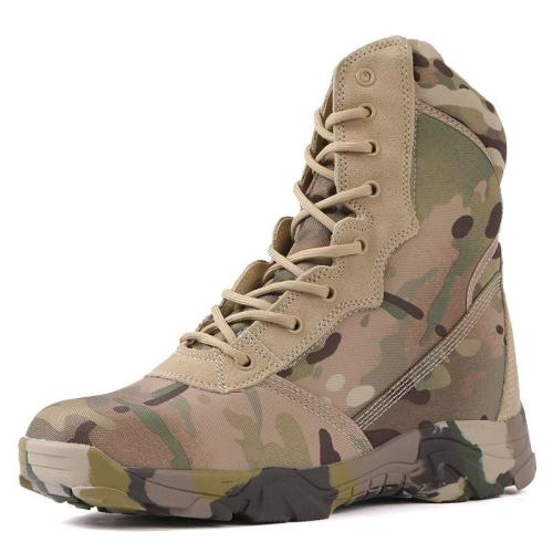 Outdoor camouflage waterproof and breathable tactical boots