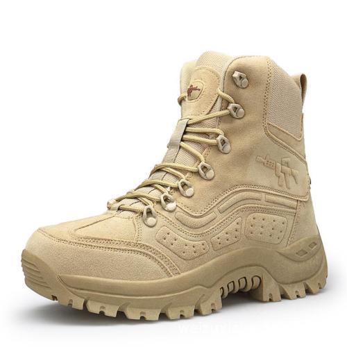 Mens outdoor tactical combat boots
