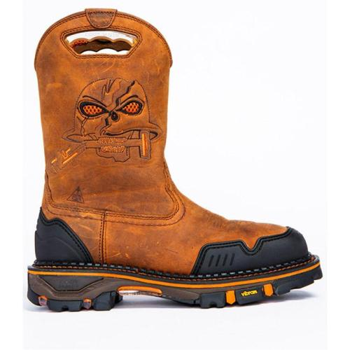 Men's skull embroidered Martin boots casual sports outdoor men's boots