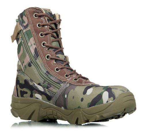 Mens outdoor all-terrain tactical boots