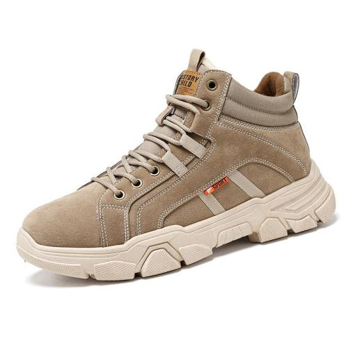 Men Lined Slip Resistant Sport Casual Tooling Boots