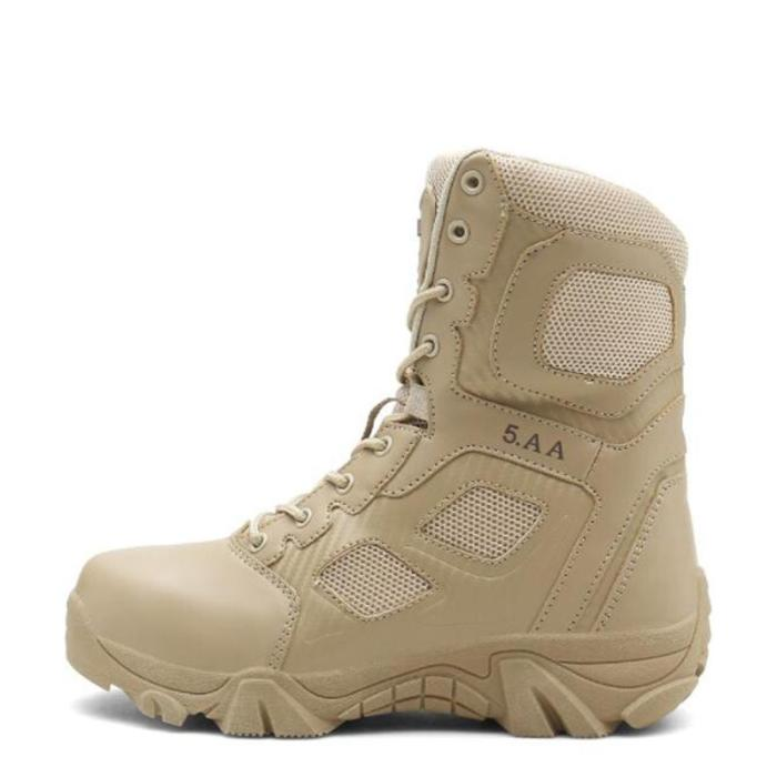Non-slip outdoor combat military boots high-top wear-resistant
