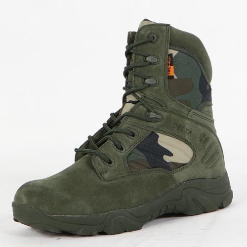Outdoor waterproof non-slip tactical boots