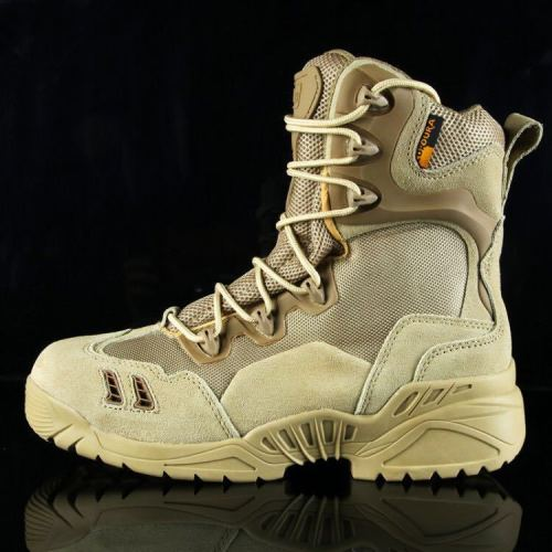 Leather Desert Combat Boots