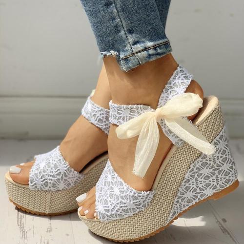 Leisure Women Wedges Heeled Shoe