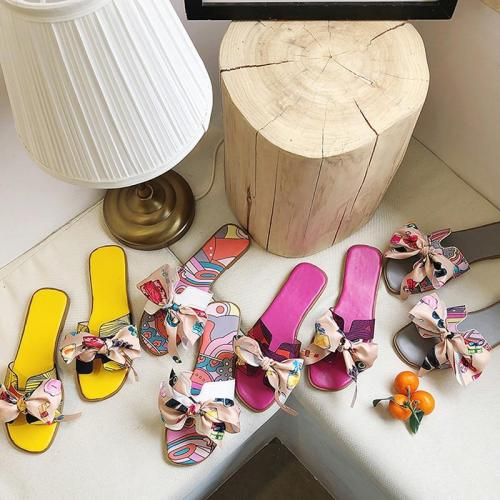 Summer Fashion Sandals  Women Bow Slipper