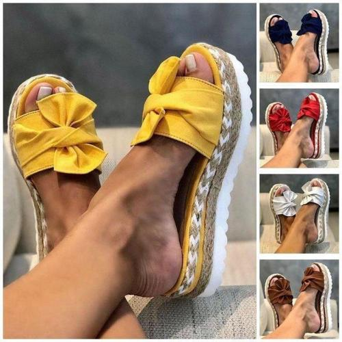 Casual Platform  Flower Sandals