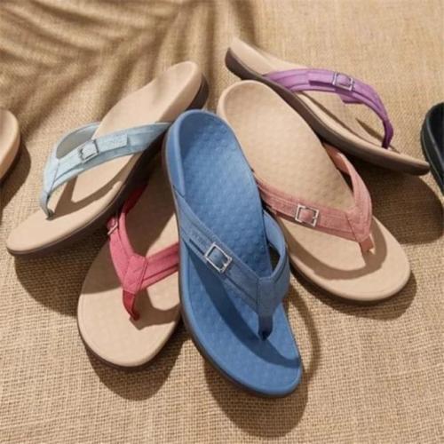 Women Beach Casual Non-Slip Flip Flop Slippers