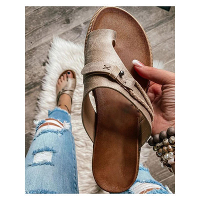 Leather Open-Toe Summer  Orthopedic Sandals  (buy 2 get 10% off & free shipping worldwide)