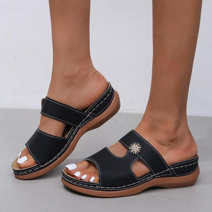 Fashion Non-Slip Sandals With Diamonds (buy 2 get 10% off & free shipping worldwide)