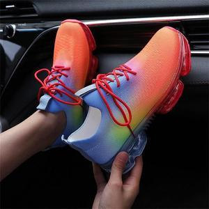 Women's Comfy Air Cushion Sneakers, Breathable Shoes Walking Running Shoes