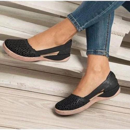 Women's Wedges Orthopedic Hollow Out  Women  Sandals Flip-flop
