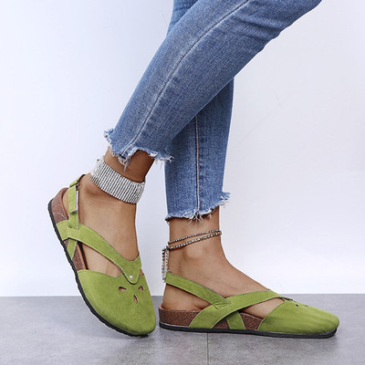 Suede Leather Slip-On Soft Footbed Sandals (BUY 2 GET 10% OFF&FREE SHIPPING)