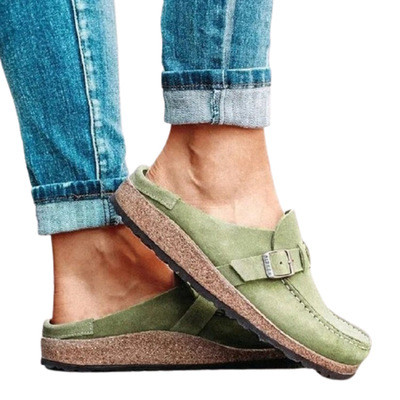 Clogs Suede Leather Slip-On Soft Footbed Shoes (buy 2 get 10% off & free shipping worldwide)